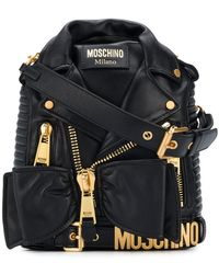 Moschino - Gold-toned Hardware Backpack - Lyst