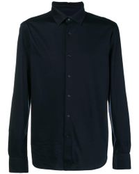 Ermenegildo Zegna - Classic Curved Hem Shirt - Lyst