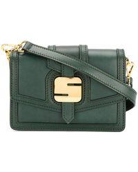 Serapian - Logo Plaque Shoulder Bag - Lyst