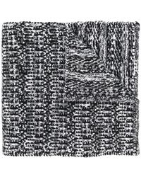 Moncler Gamme Bleu - Signature Knitted Scarf - Lyst