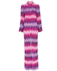 Ashish - X Browns Sequin Embellished Stripe Jumpsuit - Lyst