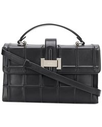 Rodo - Embossed Check Tote - Lyst