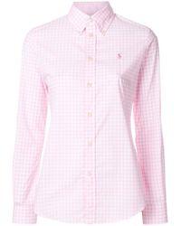 Ralph Lauren - Checked Shirt - Lyst