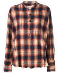 Greg Lauren - Loose-fit Plaid Shirt - Lyst