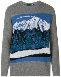 Love Moschino - Mountain Intarsia Sweater - Lyst