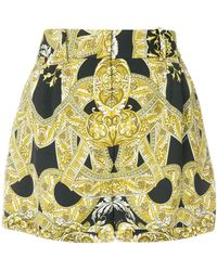 Versace | Signature Print Shorts | Lyst