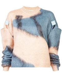 Off-White c/o Virgil Abloh - Colour Block Sweater - Lyst