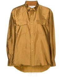 Marques'Almeida - Slubbed-silk Shirt - Lyst