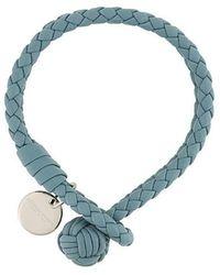 Bottega Veneta - Intrecciato Leather Bracelet - Lyst