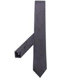 Giorgio Armani - Logo Print Tie - Lyst
