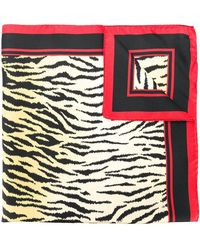 RED Valentino - Tiger Stripe Scarf - Lyst