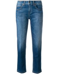 Notify - Classic Cropped Jeans - Lyst