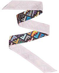 Fendi - Fun Wrappy Bandeau - Lyst