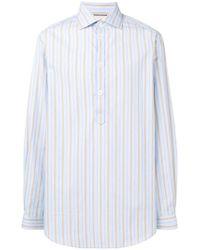Gucci - Hemd mit Nadelstreifen - Lyst