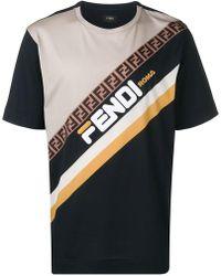 Fendi - 'Mania' T-Shirt - Lyst