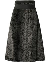 Dorothee Schumacher - Leopard Print Skirt - Lyst