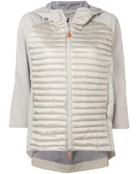 Save The Duck - Hooded Padded Jacket - Lyst