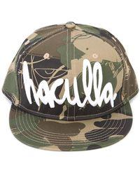 Haculla - Camouflage Print Logo Cap - Lyst