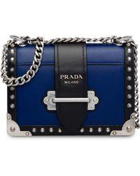 5de80424248a Prada - Cahier Studded Bag - Lyst