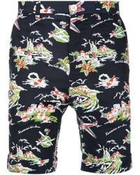 Loveless - Island Printed Shorts - Lyst