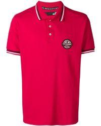 Love Moschino - Poloshirt mit Logo-Patch - Lyst