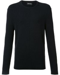 Exemplaire - English Ribbed Crew Neck Jumper - Lyst