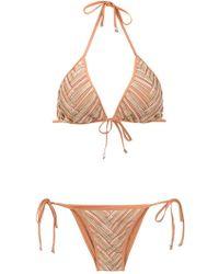 Amir Slama - Printed Bikini Set - Lyst