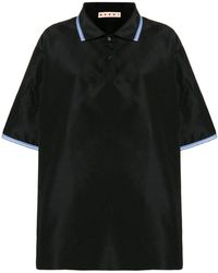 Marni - Oversized Polo Top - Lyst