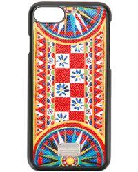 Dolce & Gabbana - Mambo Print Iphone 7 Case - Lyst