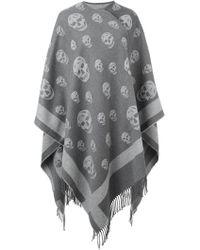 Alexander McQueen - Skull Knit Kaftan - Lyst