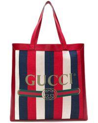 Gucci - Borsa shopper con stampa - Lyst