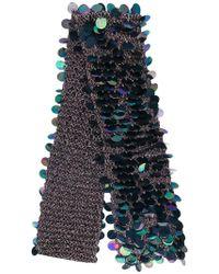 Faliero Sarti - Sequin Embellished Scarf - Lyst