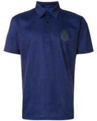 Billionaire - Crest Patch Polo Shirt - Lyst