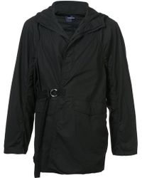 Undercover - Hooded Slightly Puffed Coat - Lyst