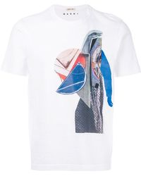 Marni | Abstract Printed T-shirt | Lyst