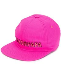 Filles A Papa - Embroidered Logo Cap - Lyst