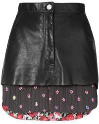 Natasha Zinko - Quilted Mini Skirt - Lyst