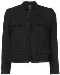 Paule Ka - Fringe Cropped Jacket - Lyst