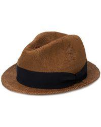 Eleventy - Woven Fedora Hat - Lyst