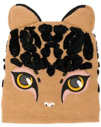 Dolce & Gabbana - Cat Shaped Beanie - Lyst