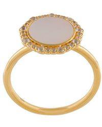 Astley Clarke - Mother Of Pearl Luna Ring - Lyst
