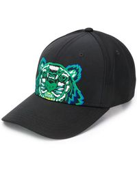 7ab44bcd505177 KENZO Tiger Cap in Blue for Men - Lyst