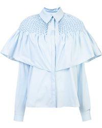 Vionnet - Ruffled Shirt - Lyst