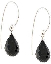Uzerai Edits - Black Spinel Earrings - Lyst