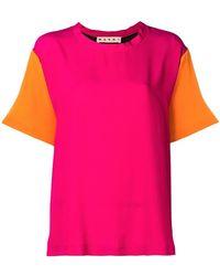 Marni - Short Sleeved Blouse - Lyst