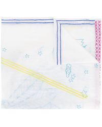 Tsumori Chisato - Stitched Detail Scarf - Lyst
