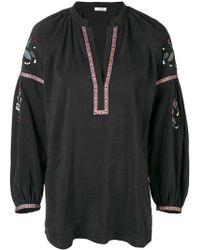 Vilshenko - V-neck Embroidered Kaftan - Lyst
