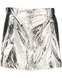 Roseanna - Metallic Shorts - Lyst
