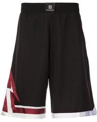Givenchy - Elasticated Waist Shorts - Lyst