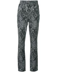 Marc Jacobs - Paisley Print Trousers - Lyst